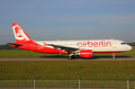 Air Berlin (Operated by Belair Airlines), HB-IOP, Airbus A320-214, 18.Mai 2016, BSL Basel, Switzerland.