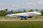Small Planet Airlines, SP-HAB, Airbus A320-232, 18.Mai 2016, BSL Basel, Switzerland.