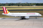 D-AIQN Germanwings Airbus A320-211  zum Start in Tegel am 07.07.2016
