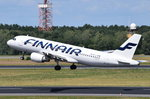 OH-LXB Finnair Airbus A320-214   gestartet am 07.07.2016 in Tegel