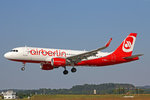 Air Berlin (Operated by Niki), D-ABNJ, Airbus A320-214 SL, 09.Juli 2016, ZRH Zürich, Switzerland.