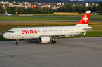SWISS International Air Lines, HB-IJK, Airbus A320-214,  Murten , 09.Juli 2016, ZRH Zürich, Switzerland.