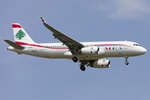 Middle East Airlines, T7-MRE, Airbus, A320-232, 08.05.2016, CDG, Paris, France