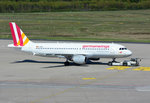A 320-200 Germanwings, D-AIPW, pushback in CGN - 05.05.2016