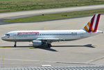 A 320-200 Germanwings, D-AIQM, taxy in CGN - 10.07.2016