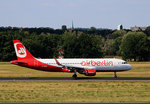 Air Berlin, Airbus A 320-214, D-ABNM, TXL, 20.07.2016