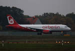 Air Berlin, Airbus A 320-214, D-ABNL, TXL, 23.10.2016
