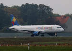 Small Planet Airlines Germany, Airbus A 320-214, D-ASPG, TXL, 23.10.2016