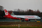 Air Berlin, Airbus A 320-214, D-ABFN, TXL, 27.11.2016