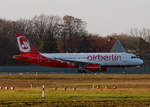 Air Berlin, Airbus A 320-216, D-ABZJ, TXL, 27.11.2016