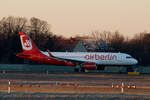 Air Berlin, Airbus A 320-214, D-ABNX, TXL, 31.12.2016
