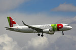 TAP Portugal, CS-TMW, Airbus A320-214 (SL), 28.April 2016, ZRH Zürich, Switzerland.