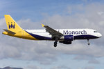 Monarch Airlines, G-ZBAR, Airbus, A320-214, 17.04.2016, ACE, Arrecife, Spain