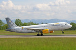 Vueling Airlines, EC-HHA, Airbus A320-214 SL, 18.Mai 2016, BSL Basel, Switzerland.