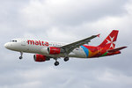 Air Malta, 9H-AEQ, Airbus A320-214, 01.Juli 2016, LHR London Heathrow, United Kingdom.