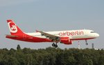 Air Berlin, D-ABHA, (c/n 3540),Airbus A 320-214, 28.08.2016, HAM-EDDH, Hamburg, Germany (Ex.TAM, PR-MHV, seit 01.06.2016 bei Air Berlin)