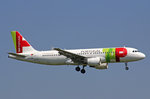 TAP Air Portugal, CS-TQD, Airbus A320-214,  Eugenio de Andrade , 31.August 2016, ZRH Zürich, Switzerland.