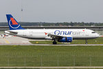 Onur Air, TC-OBO, Airbus, A320-232, 11.05.2016, STR, Stuttgart, Germany