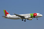 TAP Portugal, CS-TNU, Airbus A320-214, 13.September 2016, ZRH Zürich, Switzerland.