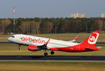 Air Berlin, Airbus A 320-214, D-ABNX, TXL, 09.04.2016