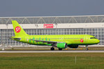 S7 Airlines, VP-BDT, Airbus A320-214, 24.September 2016, MUC München, Germany.