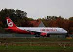 Air Berlin, Airbus A 320-216, D-ABZL, TXL, 29.10.2016