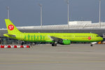 S7 Airlines, VQ-BQK, Airbus A321-211, 24.September 2016, MUC München, Germany.