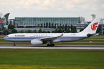 B-6090 Air China Airbus A330-243   beim Start am 20.05.2016 in München