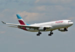 A 330-200 Eurowings, D-AXGD, final approach CGN - 10.07.2016