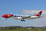 Edelweiss Air, HB-IHQ, Airbus A330-343, 28.April 2016, ZRH Zürich, Switzerland.