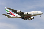 Emirates, A6-EDF, Airbus, A380-861, 08.05.2016, CDG, Paris, France