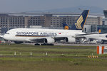 Singapore Airlines, 9V-SKQ, Airbus, A380-841, 21.05.2016, FRA, Frankfurt, Germany