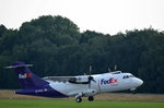 Air Contractors (FedEx) ATR 42 EI-FXA beim Start in Hamburg Fuhlsbüttel am 22.06.16