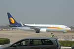 Jet Airways, VT-JTB, Boeing 737-85R, 03.März 2017, VNS Varanasi, India.