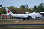 20-1102 Japan Air Self-Defence Force (JASDF) Boeing 747-47C   in Tegel am 04.05.2016