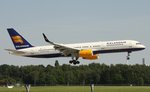 Icelandair, TF-FIT, (c/n 26244),Boeing 757-256(WL), 28.08.2016, HAM-EDDH, Hamburg, Germany (Name: Helgafell)