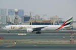 Emirates Airlines, A6-ENY, Boeing 777-31HER, 11.März 2017, DXB Dubai, United Arab Emirates.
