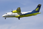 Skywork Airlines, HB-AER, Dornier, DO-328-110, 18.05.2016, BSL, Basel, Switzerland