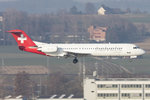 Helvetic Airways, HB-JVC, Fokker, F-100, 19.03.2016, ZRH, Zürich, Switzenland
