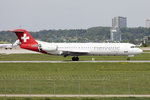 Helvetic Airways, HB-JVC, Fokker, F-100, 11.05.2016, STR, Stuttgart, Germany