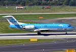 Fokker 70 (F 28-0070), PH-KZN KLM-Cityhopper, beim Start in DUS - 01.10.2015