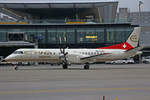 Etihad Regional (Operated by Darwin Airlines), HB-IYD, Saab 2000, 3.Dezember 2016, ZRH Zürich, Switzerland.